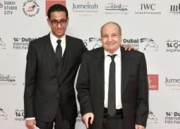 تكريم وحيد حامد وابنه مروان بالولايات المتحدة الأمريكية تقديرا لمسارهما المهني