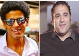 """حمدي الميرغني يهنئ أكرم حسني على """"البدلة"""""""