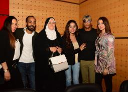 """36 صورة- أسرة محمد رمضان تدعمه في العرض الخاص لـ """"الديزل"""""""