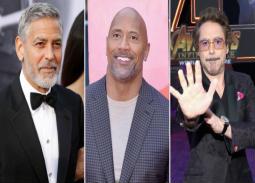 تيكيلا جورج كلوني تتفوق على دواين جونسون في قائمة الممثلين الأعلى أجرًا لعام 2018.. الحصيلة تقترب من 750 مليون دولار