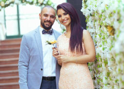 بالصور والفيديو- نسمة محجوب تحتفل بزفافها