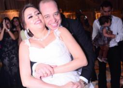 خالد زكي يحتفل بزفاف ابنه