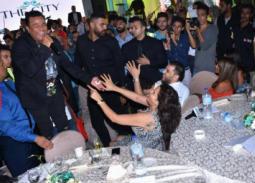 بالفيديو- سما المصري ترقص على أنغام محمد فؤاد في حفل خاص