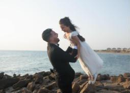 هكذا علق محمود حجازي على صورته مع ابنة أسماء شريف منير