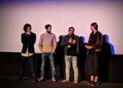 العرض الأول لفيلم ليل خارجي بحضور أحمد مالك، وكريم قاسم، وأحمد عبد الله.