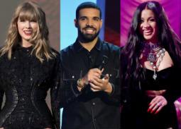 القائمة الكاملة لترشيحات جوائز الموسيقى الأمريكية لعام 2018.. دريك وكاردي بي يكتسحان