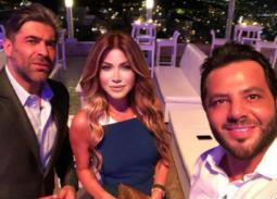 بالفيديو- نجوم الغناء يحتفلون بعيد ميلاد المطرب وائل كفوري