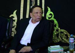 عادل إمام في عزاء سمير خفاجي