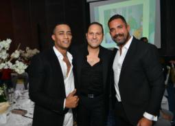 34 صورة- محمد رمضان وأمير كرارة وياسر جلال يجتمعون في حفل زفاف شقيق بيتر ميمي