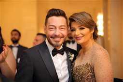 حفل زفاف شقيق زوجة أحمد زاهر