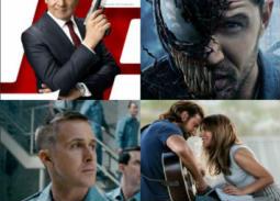 11 فيلما أجنبيا في دور العرض السينمائية خلال أكتوبر.. توم هاردي في مواجهة ليدى جاجا وريان جوسلينج