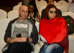 الإسكندرية السينمائي- عادل أديب ينسحب من  ندوة حسين القلا منفعلا على  مسعد فودة