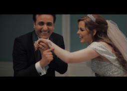"""5 صور- مشاهد حقيقية لزواج محمد رحيم وأنوسة كوتة في كليب """"أنا فيا اللى مكفينى"""""""