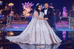 شيماء سيف تنجح في تصميم فستان زفاف أحلامها.. هكذا تحدثت عنه قبل زواجها بعامين!