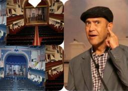 أشرف عبد الباقي يحضر قنبلة فنية من قلب عماد الدين.. خطة طموحة لإعادة الحياة إلى مسرح الريحاني