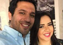 """صورة-حسن الرداد وإيمي سمير غانم يحضران أحدث عروض """"مسرح مصر"""""""