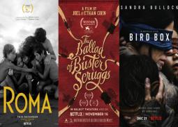 شركة Netfix تتخلى عن عداوة دور السينما.. تطرح 3 أفلام جديدة في شباك التذاكر وتحلم بالأوسكار!