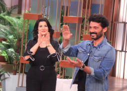 خالد النبوي مع منى الشاذلي
