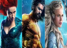 قبل طرحه في دور السينما.. 7 ملصقات دعائية جديدة لأبطال وأشرار فيلم Aquaman