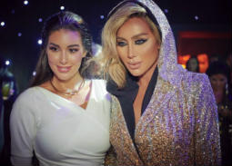 مايا دياب وياسمين صبري في حفل كارتييه ميراج بدبي