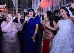 36 صورة- حفل زفاف مريم ابنة خالد عجاج.. العروس ترقص مع دينا وفيفي عبده وعدوية