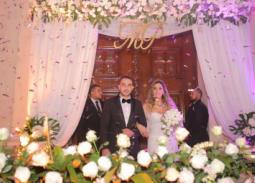 زفاف ميرا أمير في حضور نيللي ودياب ورامي صبري ونجوم المجتمع