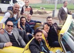 """بالصور- طارق العريان يجمع أبطال """"ولاد رزق2"""" استعدادا لبدء التصوير"""