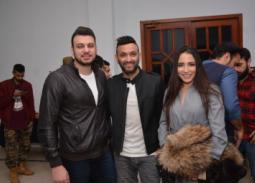 ساندي وكريم محسن وإسلام زكي