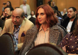 """ياسمين رئيس في عرض فيلم """"ورد مسموم"""" في مهرجان القاهرة السينمائي"""
