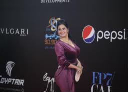 بالصور- سما المصري تظهر مجددا في حفل ختام مهرجان القاهرة السينمائي