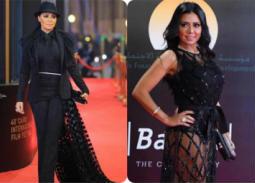بالصور- الرد الواضح من رانيا يوسف على المنتقدين بفستان يبرز أنوثتها على السجادة الحمراء