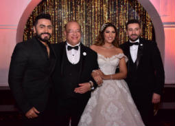حفل زفاف ابنة صلاح عبد الله