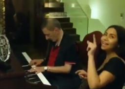 بالفيديو- زياد الرحباني يزور شيرين في منزلها.. هكذا تحدثت عنه