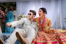 بالصور- زفاف نيك جوناس وبريانكا شوبرا على الطريقة الهندية