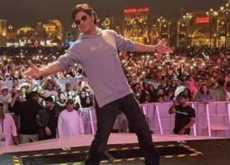 شاه روخ خان في دبي للترويج لفيلمه zero