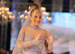 الصور الكاملة لعرض أزياء هاني البحيري لربيع وصيف 2019... نيكول سابا بفستان زفاف بـ200 مليون جنيه!