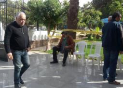 33 صورة- تشييع جنازة محمود القلعاوي وغياب الفنانين