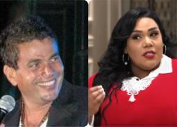 شيماء سيف وعمرو دياب