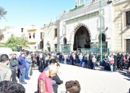 24 صورة من جنازة حسن كامي.. غياب الفنانين