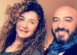 """نشر مجدي الهواري صورته مع غادة عادل وكتب: """"أنا والقمر"""""""