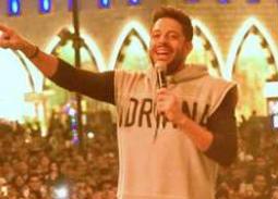 حفل محمد حماقي في القرية العالمية بـ دبي