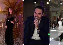 حفل وائل حسار وجوهرة بحضور نرمين الفقي
