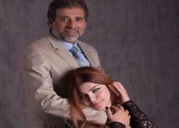 بالصور- ياسمين الخطيب تنشر صورا جديدة لها مع خالد يوسف