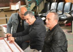 الصور الكاملة لجنازة سعيد عبد الغني.. ابنه يودعه لمثواه الأخير