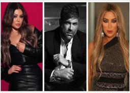 مايا دياب ، وائل كفوري ، هيفاء وهبي