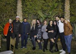 21 صورة- مينا عطا يحتفل بعيد ميلاده مع زوجته وحميد الشاعري والنجوم