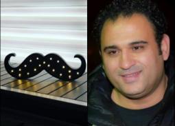 """صور كوميدية جديدة  لأكرم حسني في """"أبو شنب"""""""