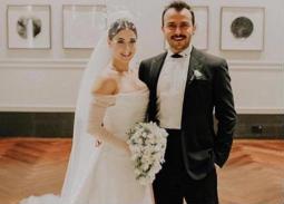 هازال كايا وعلي آتاي من حفل زفافهما.