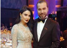 سيرين عبد النور مع الممثل التركي إنجين التان دوزياتان