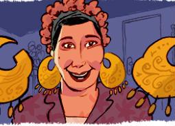 Google يحتفل بذكري ميلاد ماري منيب أشهر حماة في السينما المصرية